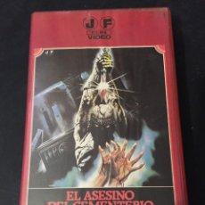 Cine: BETA VIDEO EL ASESINO DEL CEMENTERIO ETRUSCO SERGIO MARTINO DESCATALOGADA EN DVD . Lote 131188076