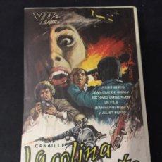 Cine: BETA VIDEO LA COLINA DE LA MUERTE CAP CANAILLE JULIET BERTO INENCONTRABLE NO EDITADA EN DVD. Lote 131188492