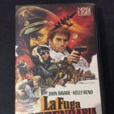 Cine: BETA VIDEO LA FUGA LEGENDARIAJOHN SAVAGE KELLY RENO CARATULA MAC MACARIO GOMEZ NO EDITADA EN DVD. Lote 131189388