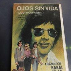 Cine: BETA VIDEO LA OTRA IMAGEN OJOS SIN VIDA ANTONIO RIBAS FRANCISCO RABAL ¡¡INENCONTRABLE!! UNICA EN TC. Lote 131190852