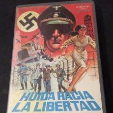 Cine: BETA VIDEO HUIDA HACIA LA LIBERTAD JERZY HOFFMAN PELICULA POLACA NO EDITADA EN DVD NAZIS NACISMO . Lote 131201744