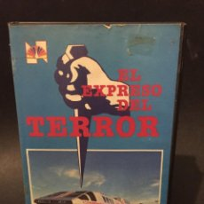Cine: BETA VIDEO EL EXPRESO DEL TERROR DON STROUD STEVE LAWRENCE GEORGE HAMILTON NO EDITADA EN DVD. Lote 131544654