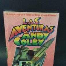 Cine: BETA LAS AVENTURAS DE ANDY COLBY PELICULA MEZCLA DE ANIMACIÓN Y PERSONAJES REALES RAREZA CAJA GRANDE. Lote 131768910