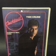 Cine: BETA VIDEO COCKTAIL TOM CRUISE ELISABETH SHUE 1ª EDICION CAJA GRANDE TOUCHSTONE HOME VIDEO. Lote 131867310