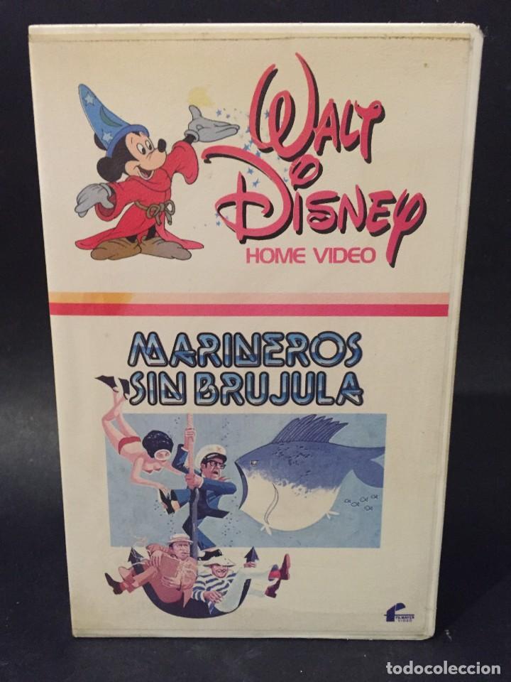 BETA MARINEROS SIN BRUJULA ROBERT MORSE STEFANIE POWERS WALT DISNEY 1ª EDICION NO EDITADA EN DVD (Cine - Películas - BETA)