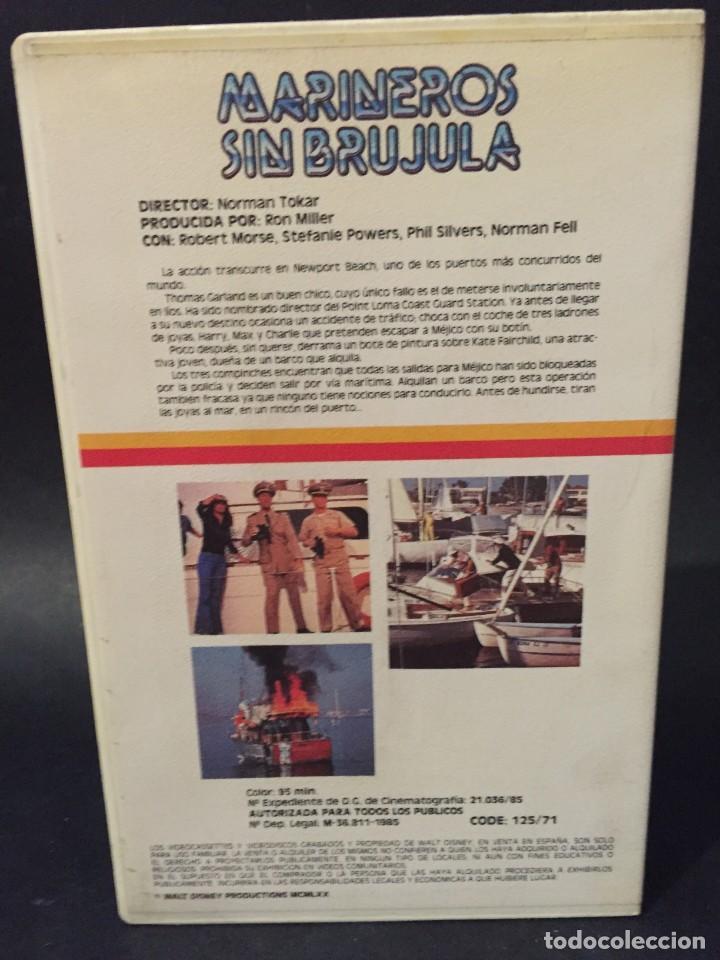 Cine: BETA MARINEROS SIN BRUJULA Robert Morse Stefanie Powers WALT DISNEY 1ª EDICION NO EDITADA EN DVD - Foto 2 - 131966854