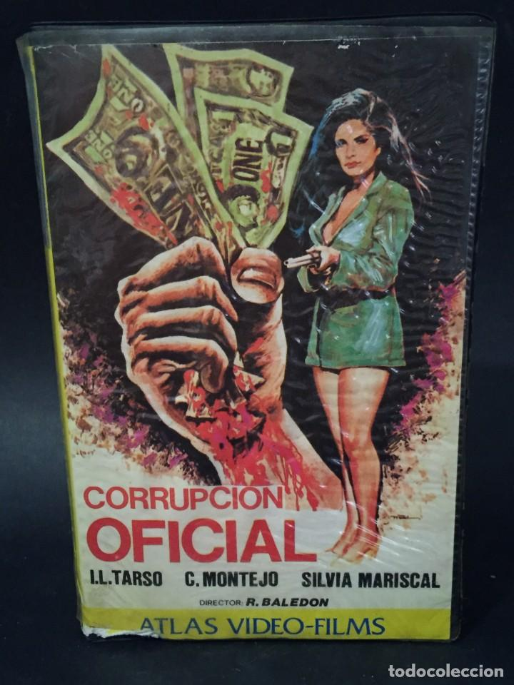 BETA VIDEO CORRUPCION OFICIAL SILVIA MARISCAL CARATULA MAC MACARIO GOMEZ UNICA EN TC NO EDITADA DVD (Cine - Películas - BETA)