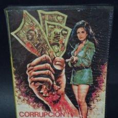 Cine: BETA VIDEO CORRUPCION OFICIAL SILVIA MARISCAL CARATULA MAC MACARIO GOMEZ UNICA EN TC NO EDITADA DVD. Lote 133056330