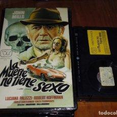 Cine: LA MUERTE NO TIENE SEXO - BETAMAX. Lote 134149438