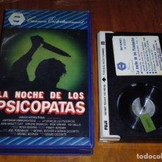 Cine: LA NOCHE DE LOS PSICOPATAS - BETAMAX. Lote 134149598