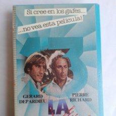Cine: BETA - LA CABRA - PIERRE RICHARD, GÉRARD DEPARDIEU, FRANCIS VEBER - COMEDIA, AVENTURAS. Lote 136824934