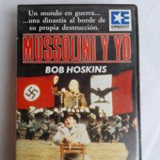 Cine: BETA - MUSSOLINI Y YO - BOB HOSKINS, SUSAN SARANDON, ANTHONY HOPKINS - II GUERRA MUNDIAL. Lote 136827806
