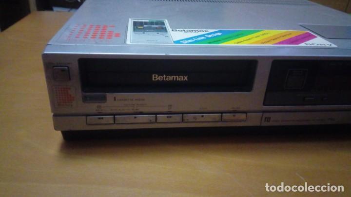 Kino: Reproductor Video Beta Sony Betamax SL-C30E - Foto 2 - 146032105