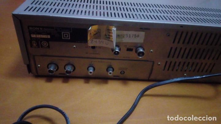 Kino: Reproductor Video Beta Sony Betamax SL-C30E - Foto 4 - 146032105