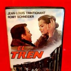 Cine: EL TREN - VIDEO DISCO. Lote 140949894