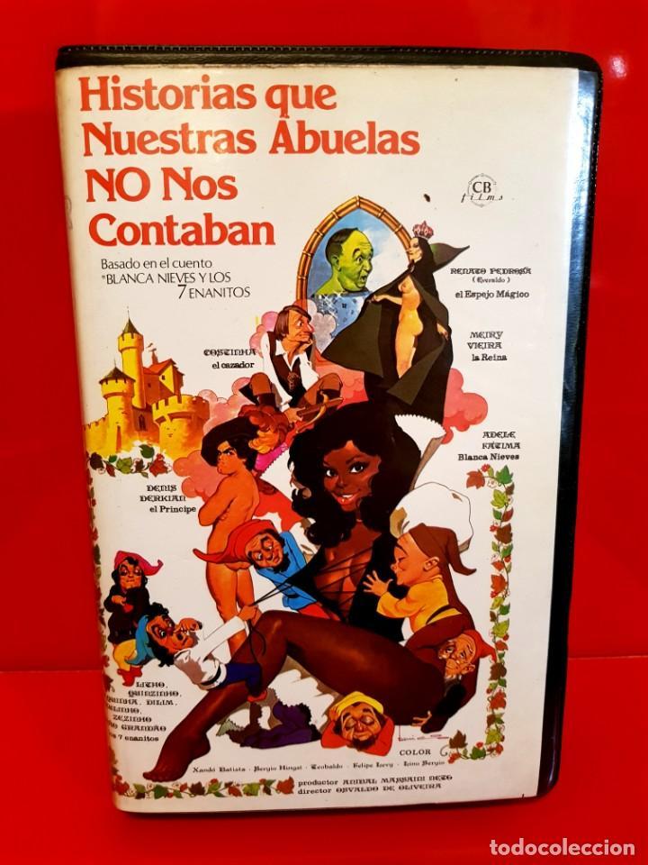 Cine: HISTORIAS QUE NUESTRAS ABUELAS NO NOS CONTABAN - XANDO BATISTA - RAREZA MUY ESCASA Beta! - Foto 2 - 141537222