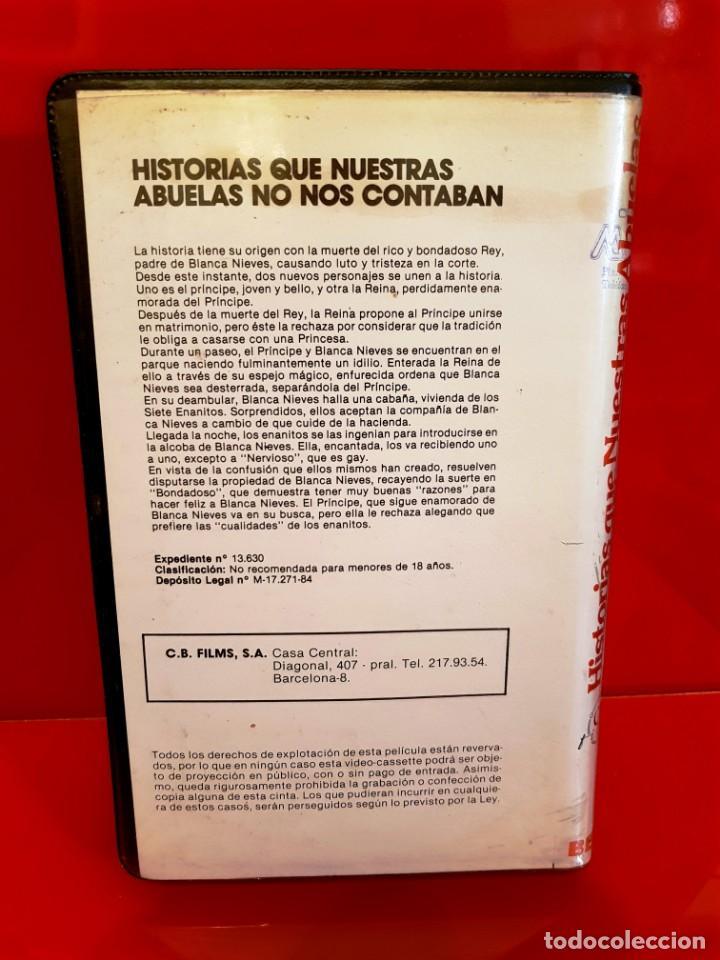 Cine: HISTORIAS QUE NUESTRAS ABUELAS NO NOS CONTABAN - XANDO BATISTA - RAREZA MUY ESCASA Beta! - Foto 3 - 141537222
