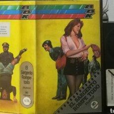 Cine: EL SARGENTO ROMPE TODO - REGALO MONTAJE SOBRE DVD. FRANCO FRANCHI. Lote 143084966