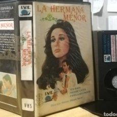 Cine: LA HERMANA MENOR - TED WASS - REGALO TRANSFER. Lote 143088964