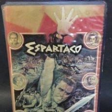 Cine: BETA VIDEO ESPARTACO 1ª EDICION FUNDA GRANDE STANLEY KUBRICK KIRK DOUGLAS, TONY CURTIS, LAURENCE OLI. Lote 143936534