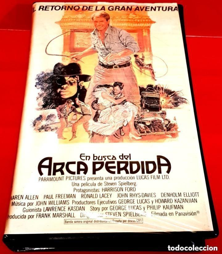 INDIANA JONES: EN BUSCA DEL ARCA PERDIDA (1981) - RAREZA EDICIÓN ARCAICA BETA (Cine - Películas - BETA)