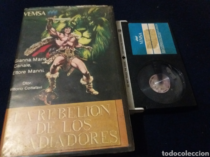 LA REBELION DE LOS GLADIADORES- BETA- VITTORIO COTTAFAVI (Cine - Películas - BETA)