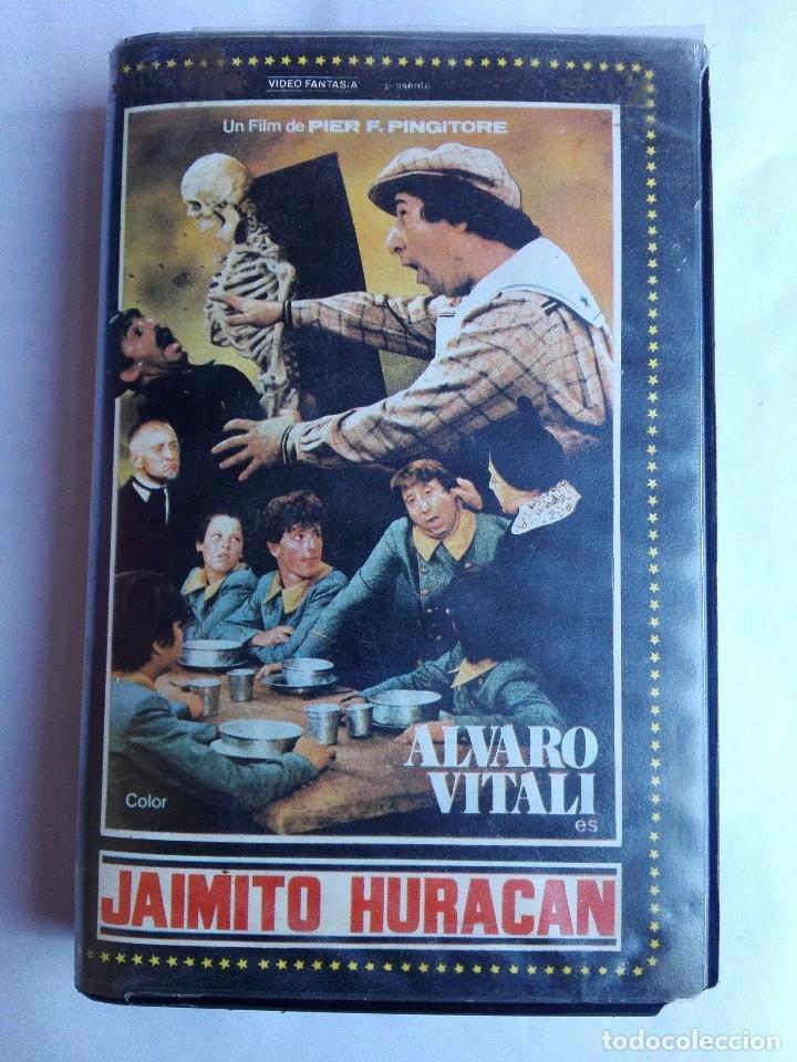 BETA - JAIMITO HURACAN - ALVARO VITALI, MARIO CAROTENUTO, PIER FRANCESCO PINGITORE (Cine - Películas - BETA)