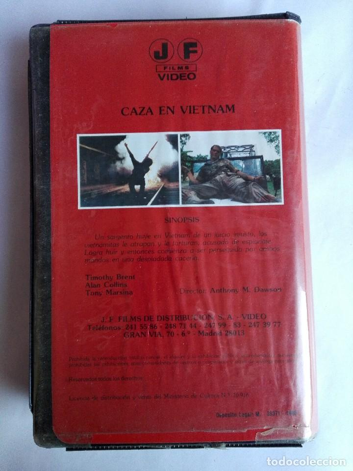 Cine: BETA - CAZA EN VIETNAM - Giancarlo Prete, Romano Kristoff, Antonio Margheriti - Guerra de Vietnam - Foto 3 - 146571350