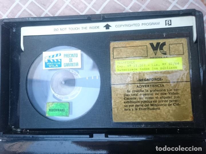Cine: BETA - MEGAFORCE con cinta en mal estado supuestamente -VER FOTOS - Foto 3 - 147108706