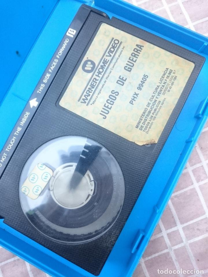 Cine: BETA - JUEGOS DE GUERRA cinta en mal estado supuestamente -VER FOTOS - Foto 3 - 147108730