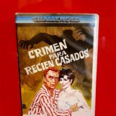 Cine: CRIMEN PARA RECIÉN CASADOS (1960) - 1ª EDIC. Lote 148504566