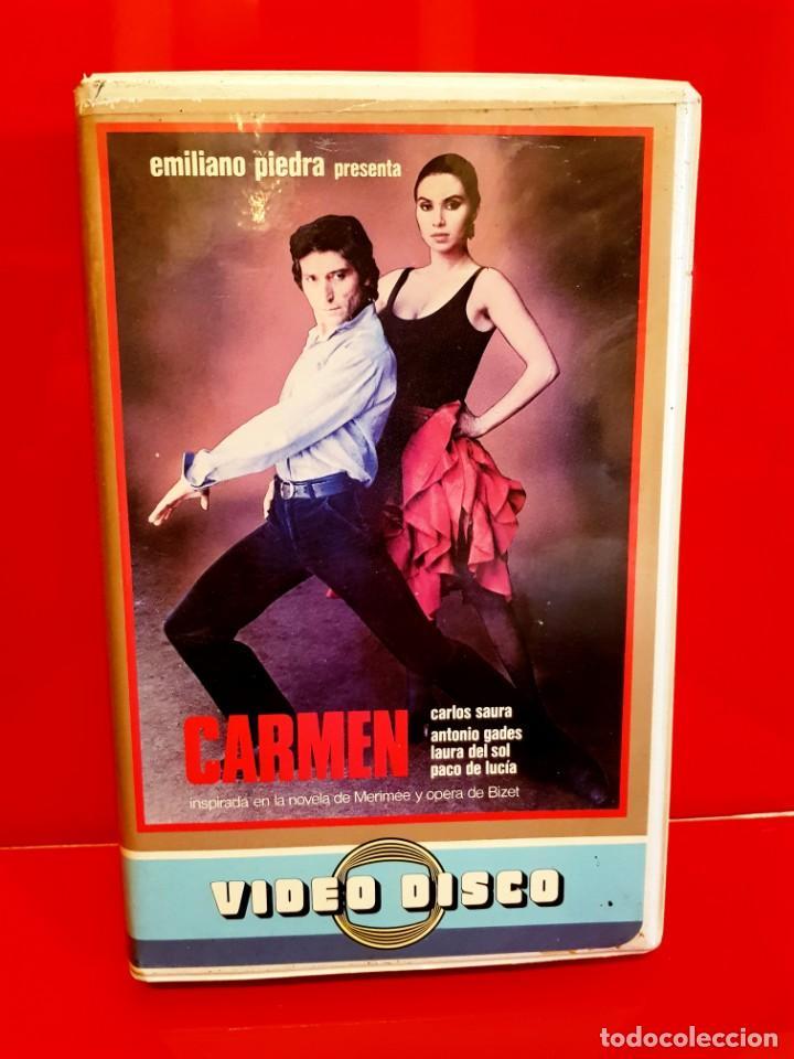 CARMEN.CINE ESPAÑOL DE LOS 80 - VIDEODISCO (Cine - Películas - BETA)