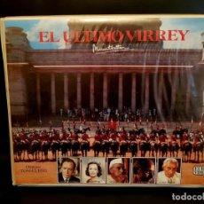 Cine: EL ULTIMO VIRREY CAJA DOBLE - TOM CLEGG - JANET SUZMAN. ESTUCHE DOBLE. Lote 148809138