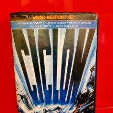 Cine: CICLÓN - CYCLONE (1978) TIBURONES ASESINOS. DIR. RENE CARDONA. OJO BETA. Lote 149405914