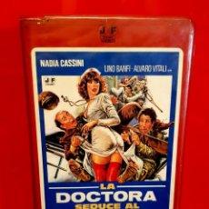 Cine: LA DOCTORA SEDUCE AL CORONEL (1980) - MICHELE MASSIMO, ALVARO VITALI - JOSE FRADE. Lote 149406554