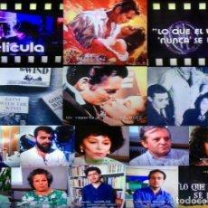 Cine: BETA LO QUE EL VIENTO SE LLEVO MÁS PROGRAMA DE PELICULA DEDICADO A SU PRIMERA EMISIÓN EN TVE. Lote 150185522