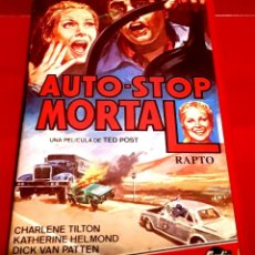Cine: AUTO STOP MORTAL - DOMINIQUE DUNNE, DICK VAN PATTEN, TED POST. Lote 151174682