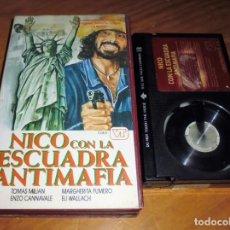 Cine: NICO CON LA ESCUADRA ANTI MAFIA . TOMAS MILIAN . POLIZIESCO - BETAMAX. Lote 151375218