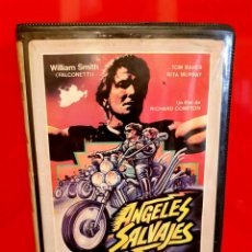 Cine: ANGELES SALVAJES - SAVAGE ANGELS (PANDILLEROS Y MOTEROS) - RAREZA. Lote 151483286