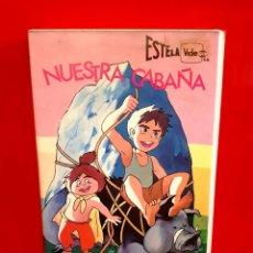Cine: CONAN EL NIÑO DEL FUTURO - NUESTRA CABAÑA. Lote 151483438