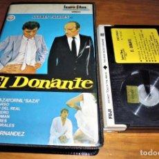 Cine: EL DONANTE . PAJARES - BETAMAX. Lote 151493562