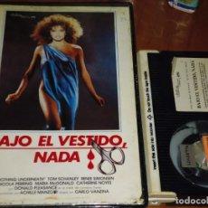 Cine: BAJO EL VESTIDO NADA. GIALLO - BETAMAX. Lote 151500550