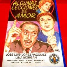 Cine: ALGUNAS LECCIONES DE AMOR (1966) - JOSE LUIS LOPEZ VAZQUEZ, LINA MORGAN (MUY ESCASA - BETA!). Lote 151584798