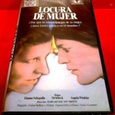 Cine: LOCURA DE MUJER (1983) - HELLER WAHN - DESCATALOGADA. Lote 151662266
