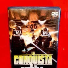 Cine: LA CONQUISTA DE LA TIERRA (1980) - KENT MCCORD, BARRY VAN DYKE - CIENCIA FICCION, EXTRATERRESTRES. Lote 151904466