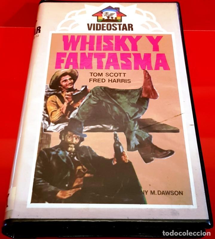 WHISKY Y FANTASMA (1976) - FANTASMA EN EL OESTE / RAREZA COMEDIA/WESTERN VIDEOSTAR UNICA EN TC! (Cine - Películas - BETA)
