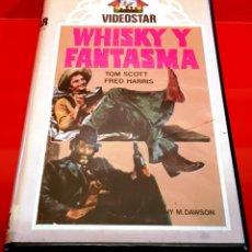 Cine: WHISKY Y FANTASMA (1976) - FANTASMA EN EL OESTE / RAREZA COMEDIA/WESTERN VIDEOSTAR UNICA EN TC!. Lote 151906106
