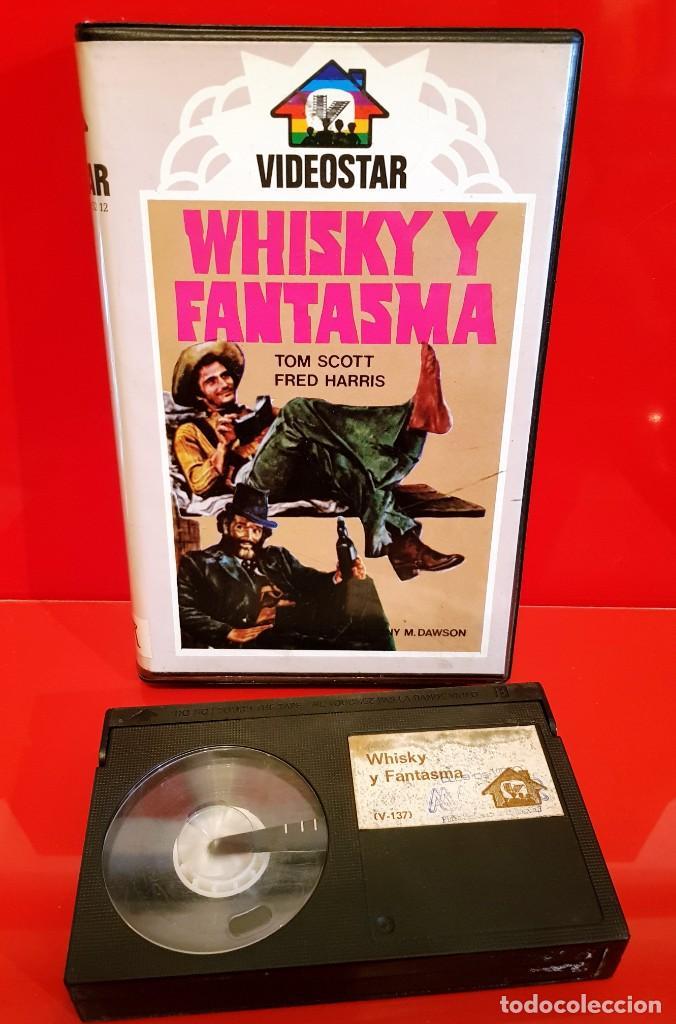 Cine: WHISKY Y FANTASMA (1976) - Fantasma en el Oeste / Rareza Comedia/Western Videostar UNICA EN TC! - Foto 3 - 151906106