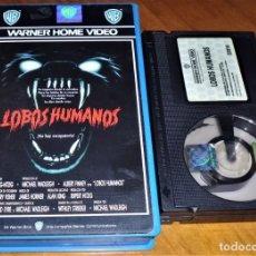 Cine: LOBOS HUMANOS . TERROR - BETAMAX. Lote 152114834
