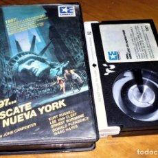 Cine: 1997 . RESCATE EN NUEVA YORK . JOHN CARPENTER - BETAMAX. Lote 152118462